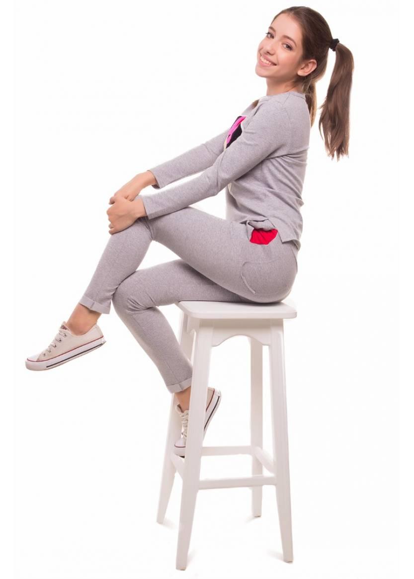 Спортивный костюм Мульти, красный