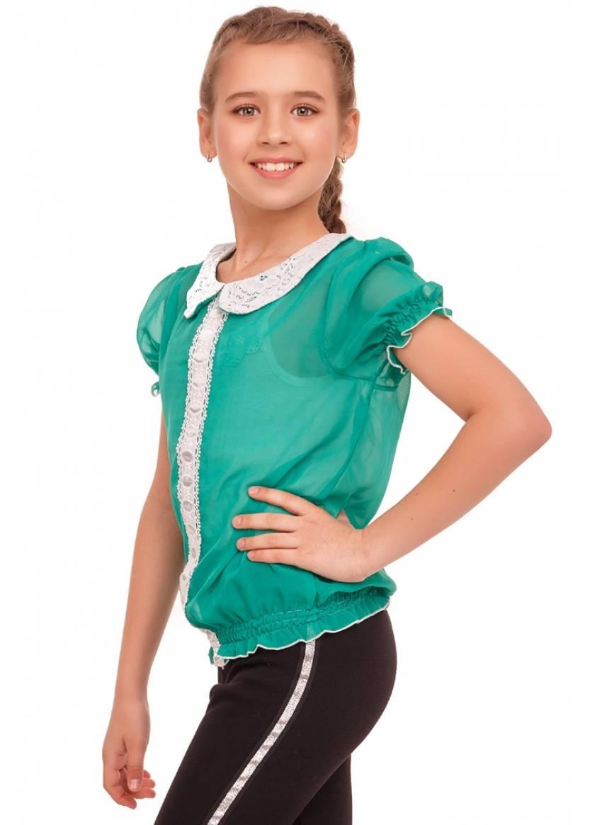 Блуза Адрия, зеленый