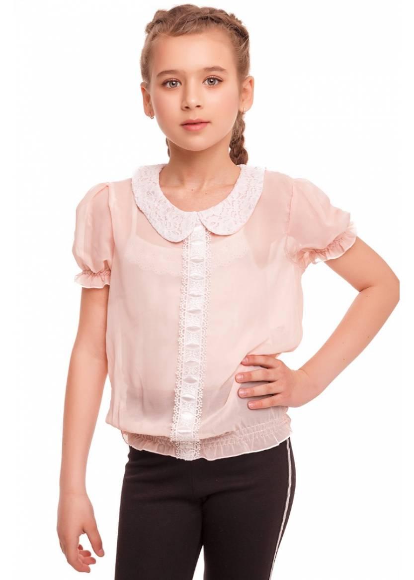 Блуза Адрия, персиковый