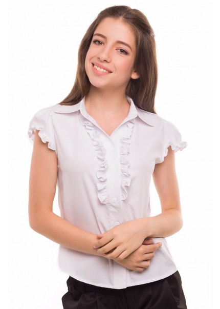 Блуза Алика, белый