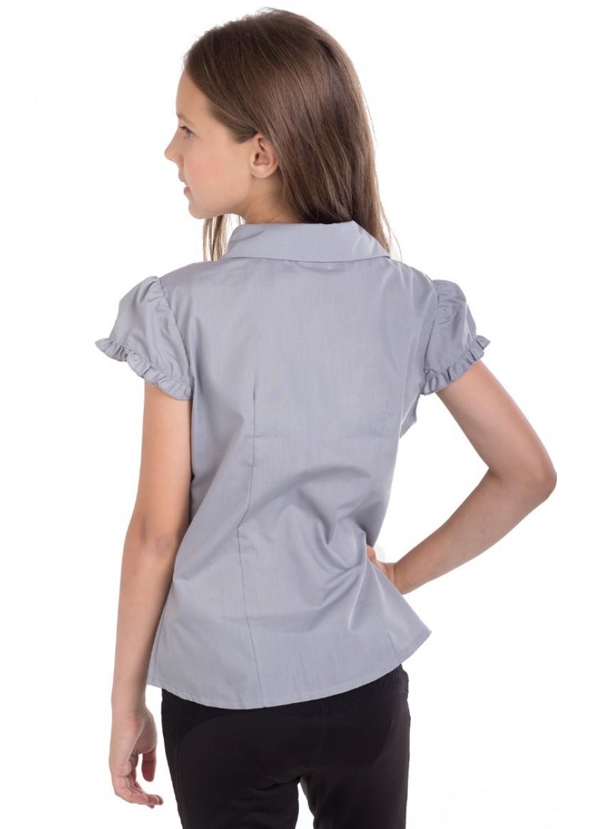 Блуза Альба, серый