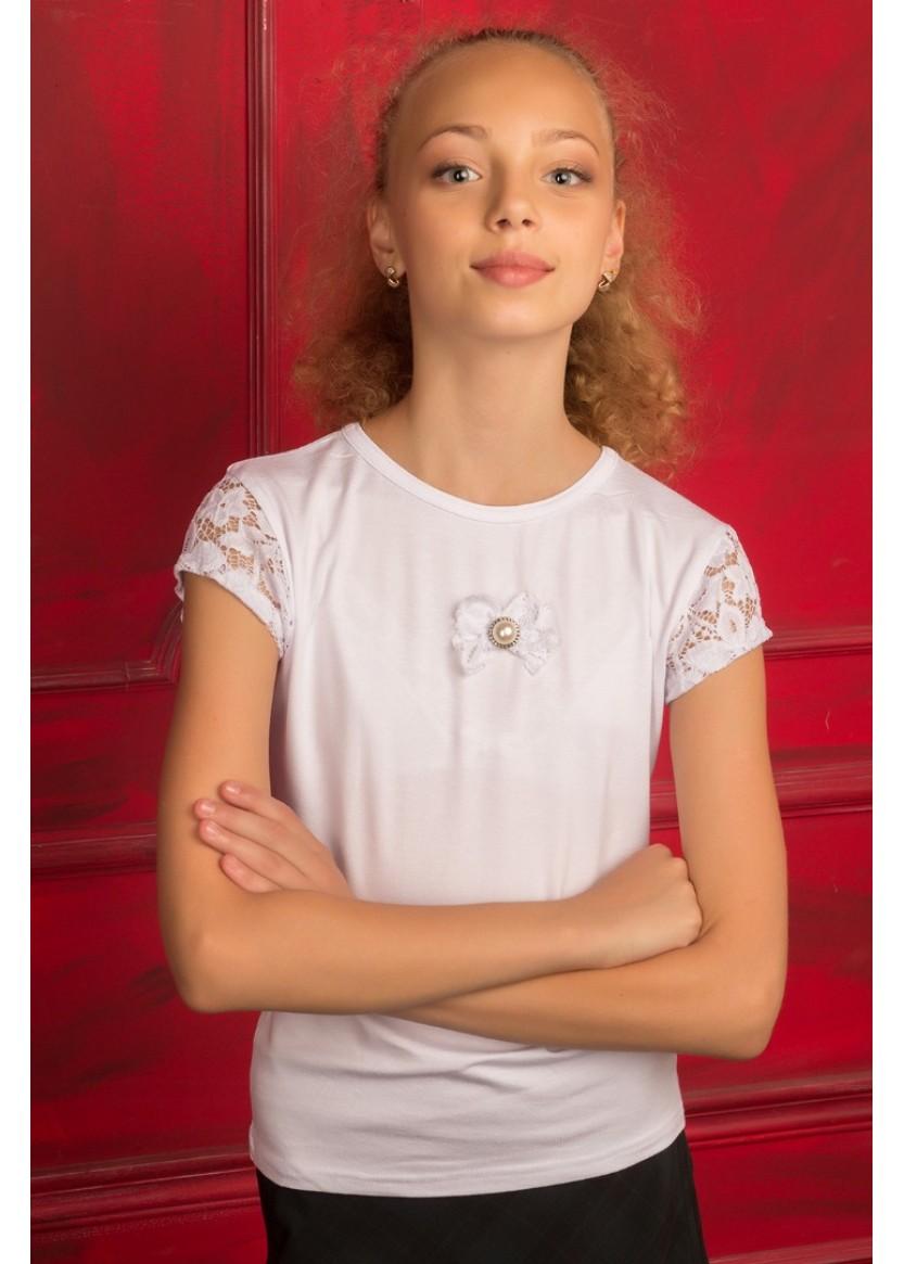 Блуза Ангелина, белый