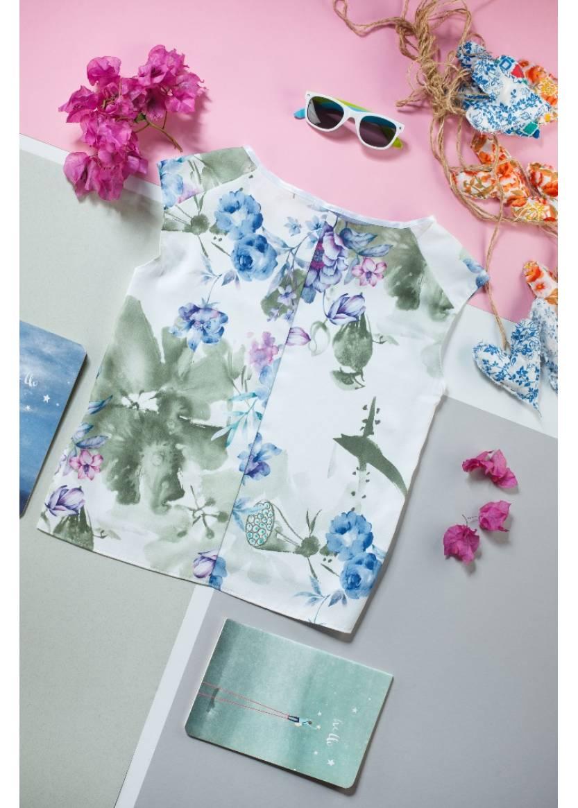 Блуза Ванда, зеленый