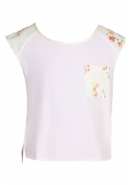 Блуза Ванда, персиковый