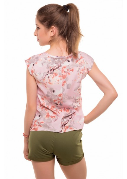 Блуза Ванда, розовый