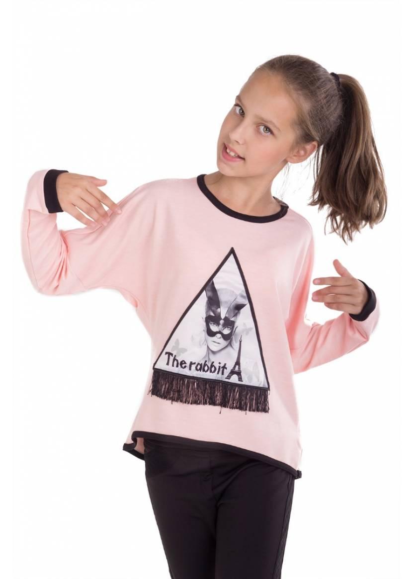 Блуза Виола, розовый