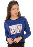 Блуза Виола, синий