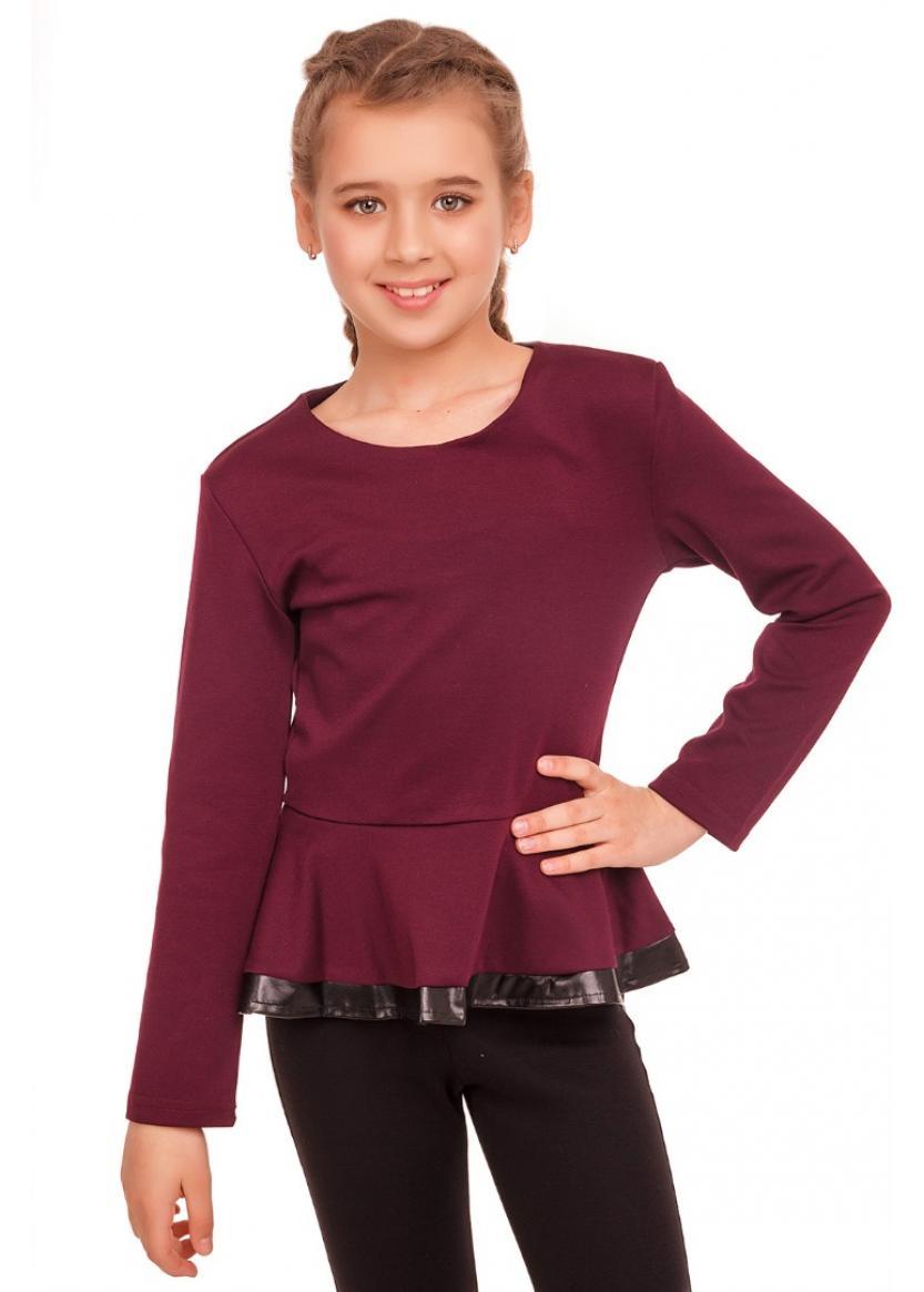 Блуза Влада, бордовый