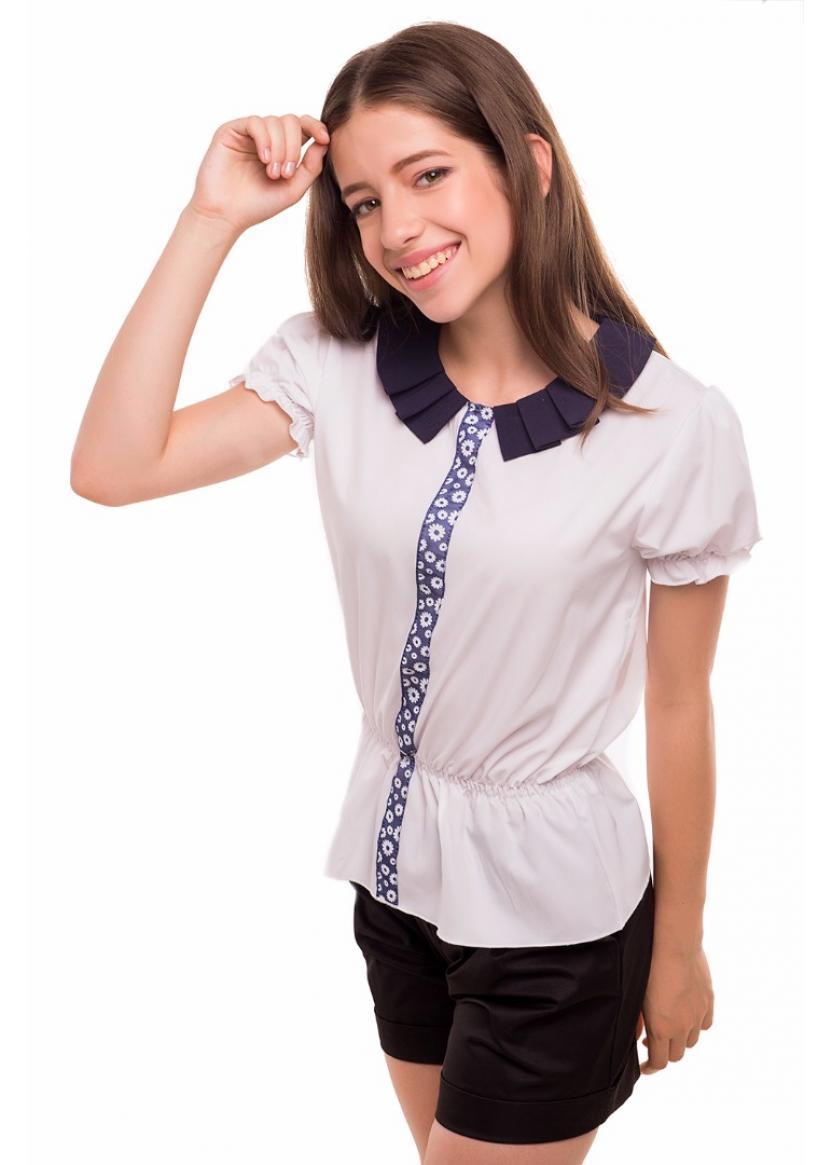Блуза Зоряна, белый