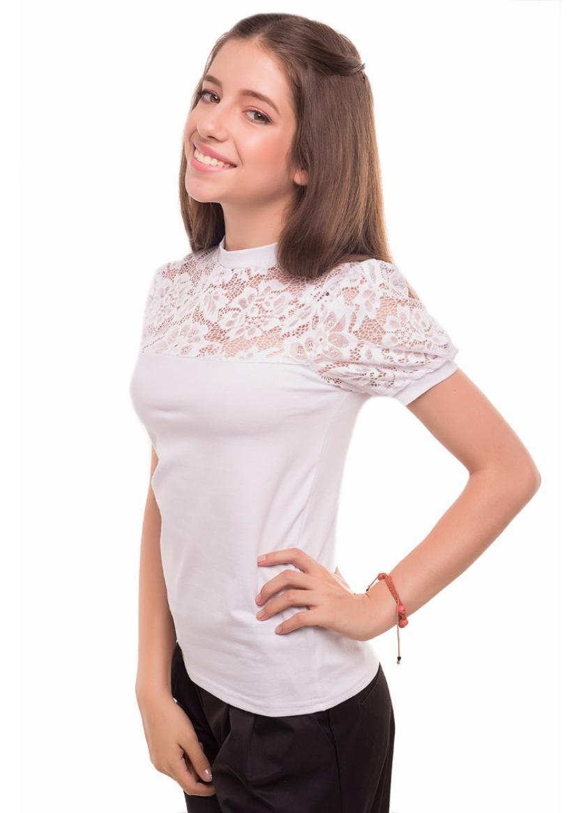 Блуза Кузина, белый