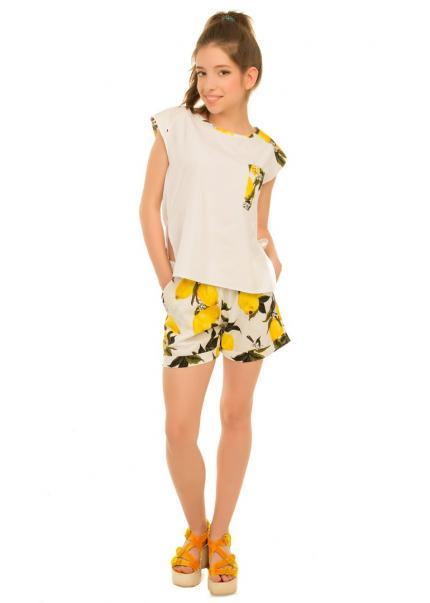Блуза Лимон, желтый