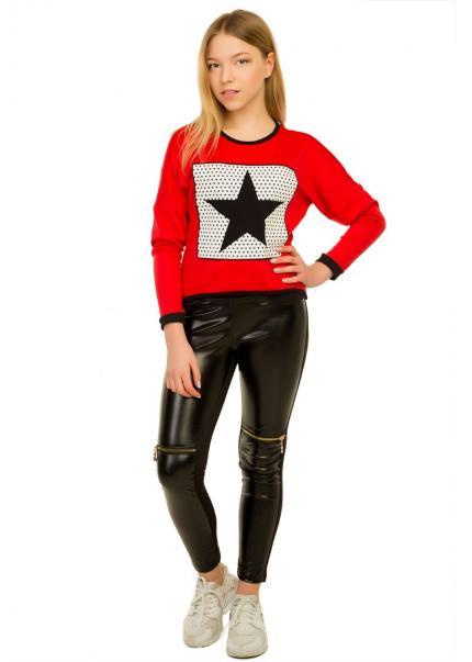 Блуза Рошель, красный