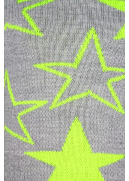 Гамаши Звезды неон, лимонный