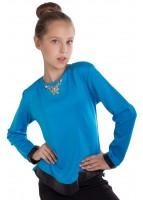 Блуза Лия, голубой