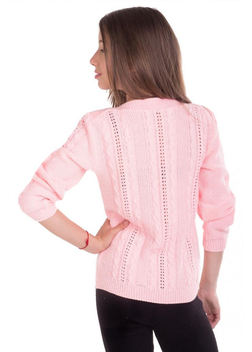 Джемпер Прованс, розовый