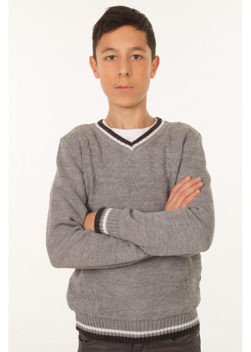 Джемпер Стэн, серый