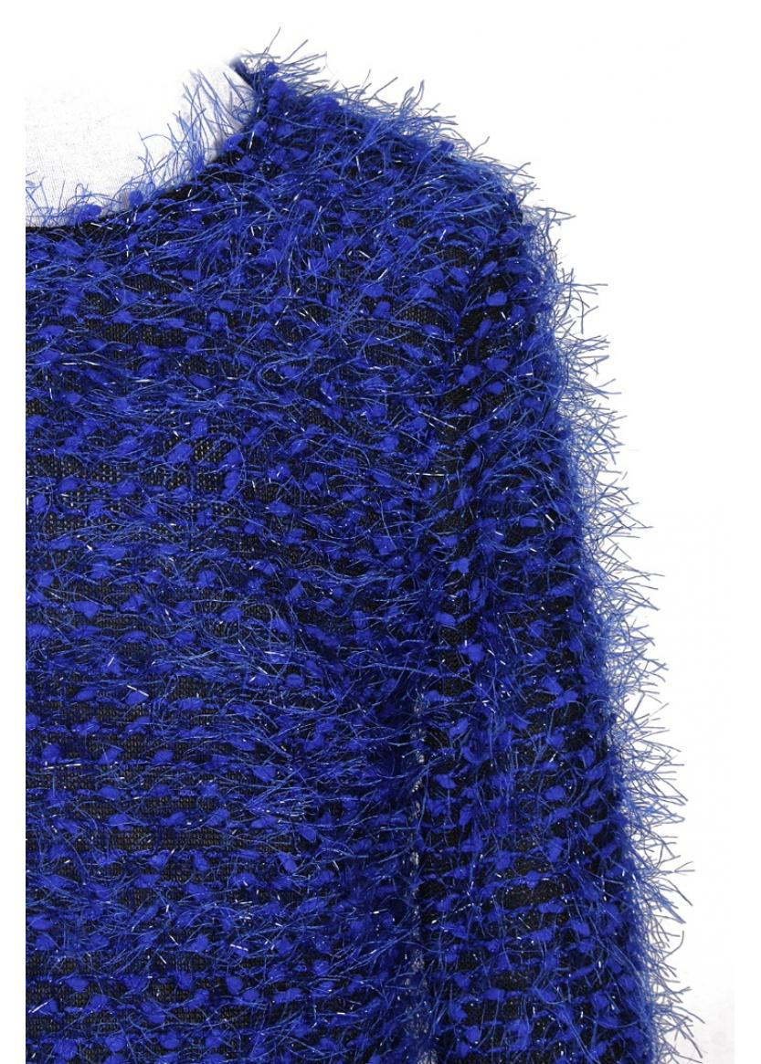 Лонгслив Кроули, синий