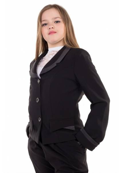 Пиджак Людмила, черный