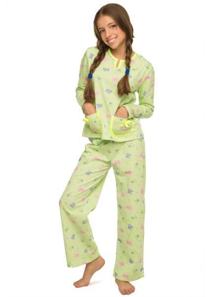 Пижама Бемби, зеленый