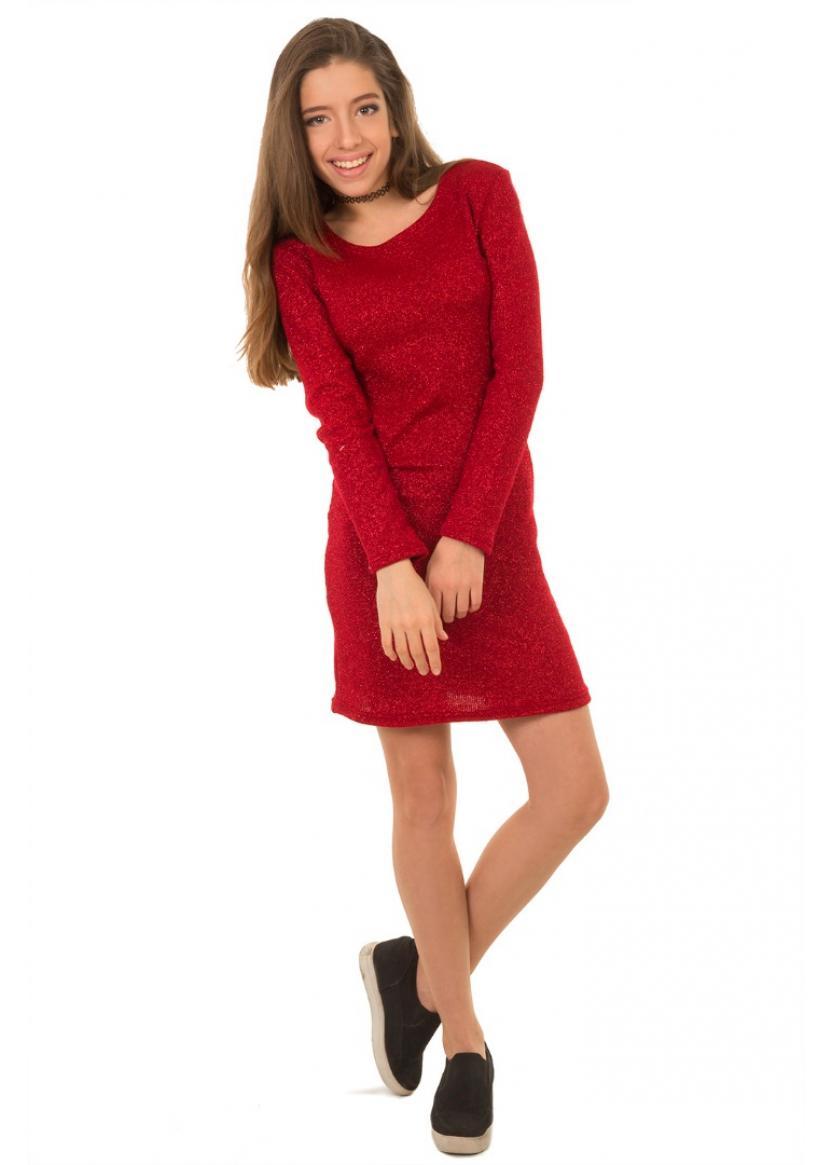 Платье Анабель, красный