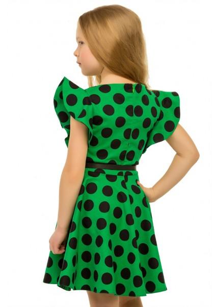 Платье Ассоль, зеленый
