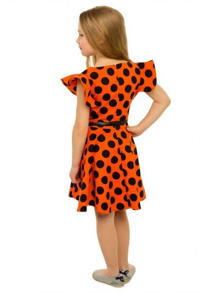 Платье Ассоль, оранжевый