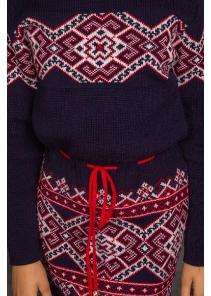 Платье Берегиня, красный