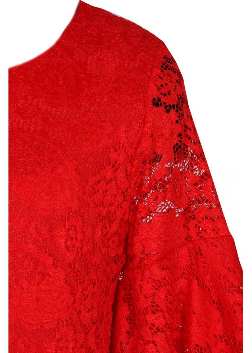 Платье Валерия, красный