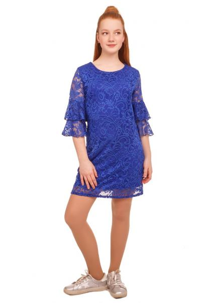 Платье Валерия, синий