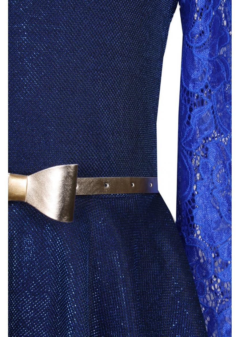 Платье Вера, синий
