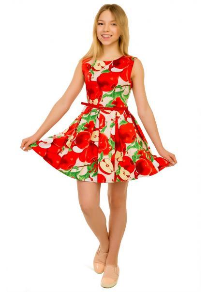 Платье Квинти, красный
