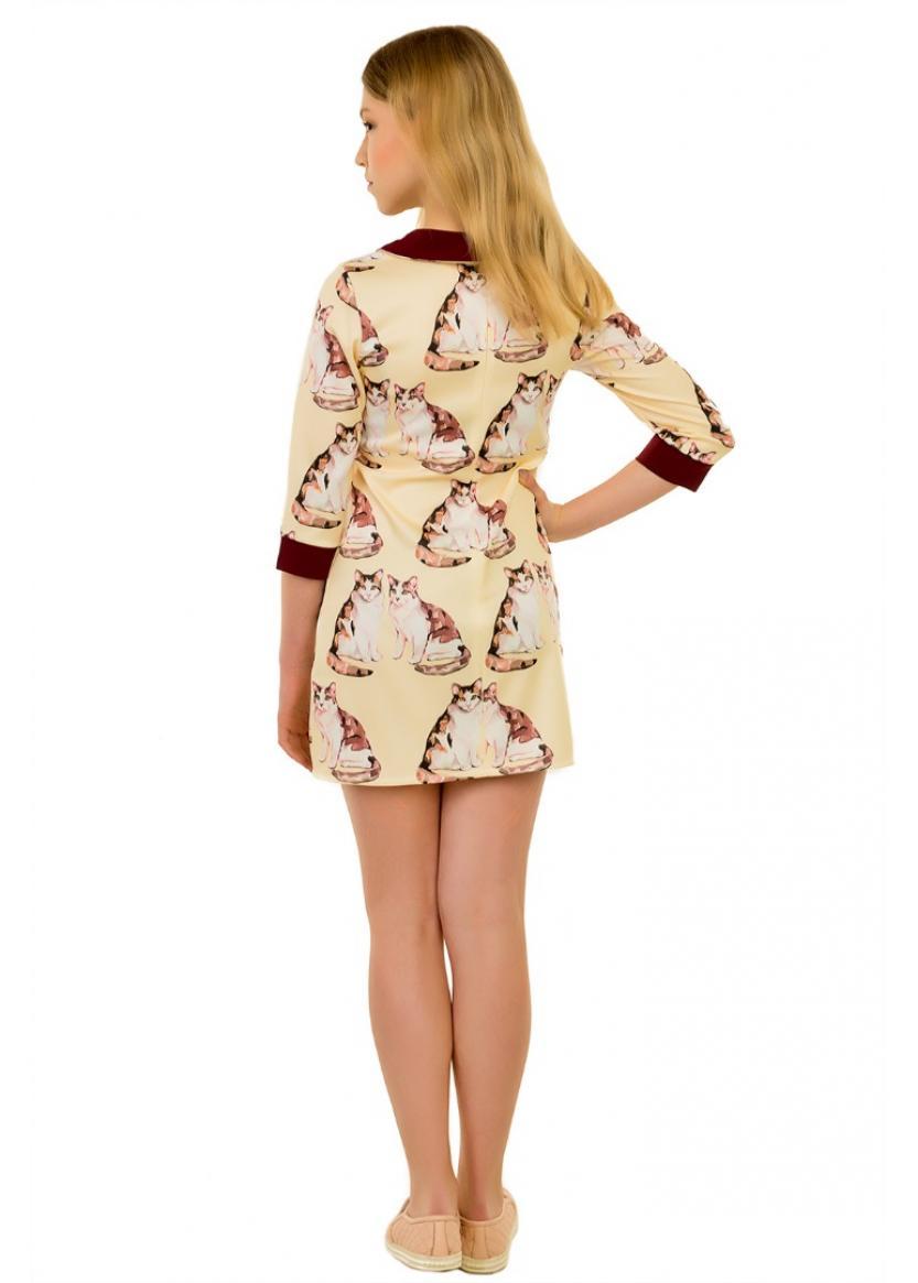 Платье Кэт, бежевый