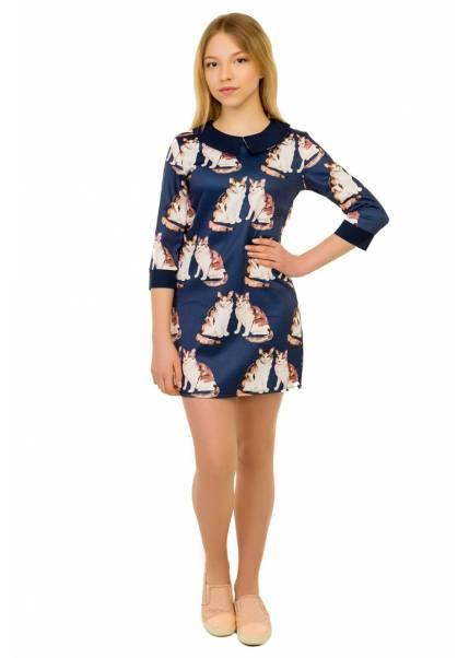 Платье Кэт, синий