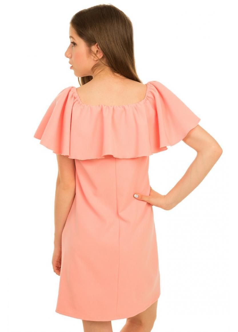 Платье Лана, персиковый