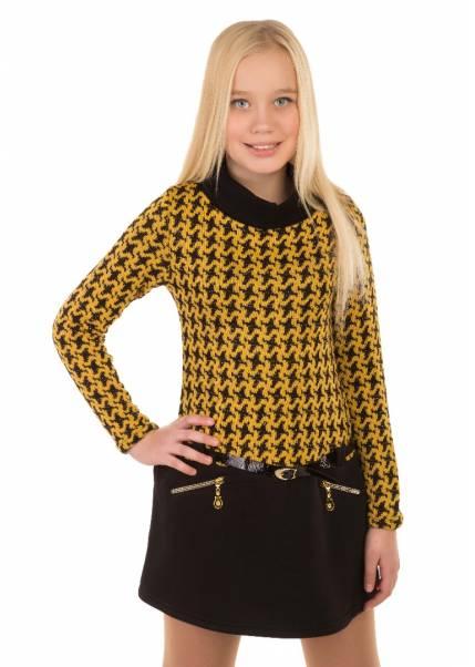 Платье Лапуля, желтый