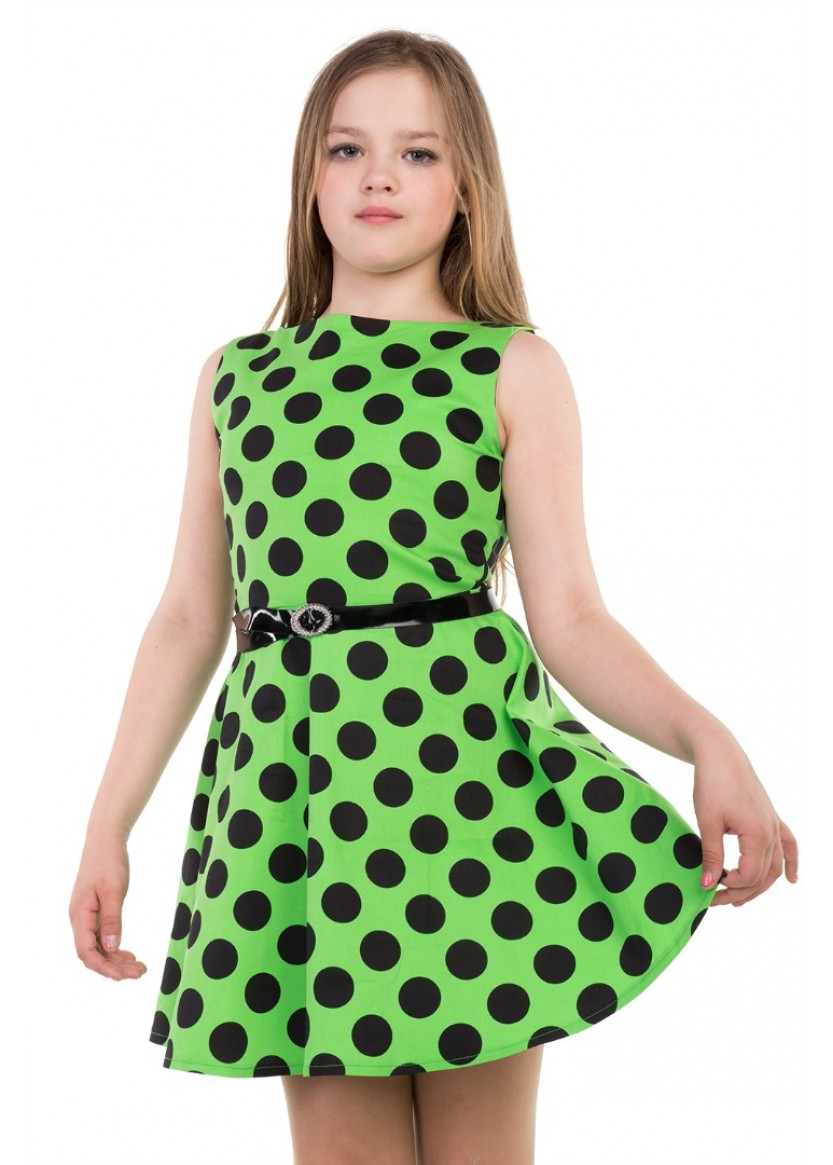 Платье Лика, зеленый