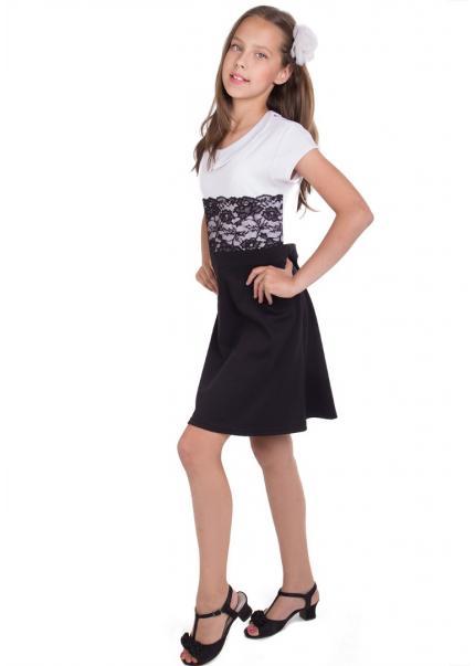 Платье Линет, черный