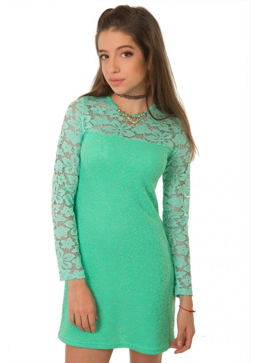 Платье Луиза, бирюзовый
