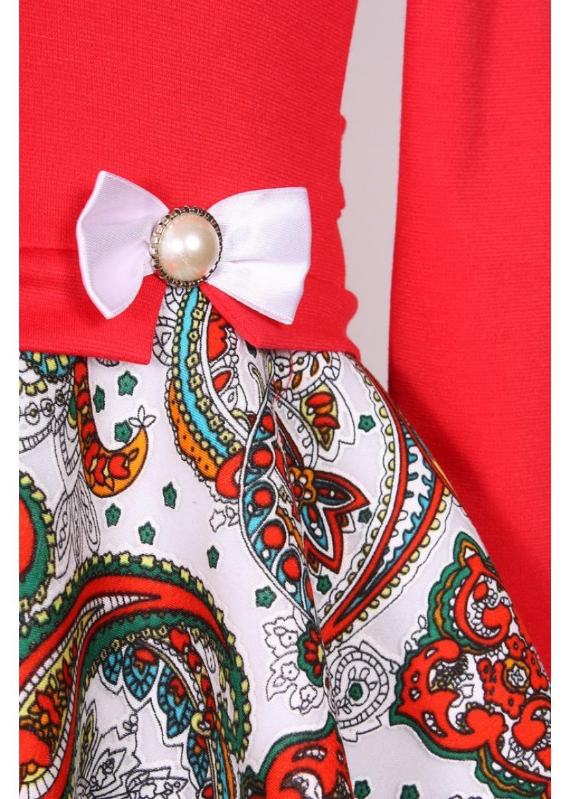 Платье Мадина, красный