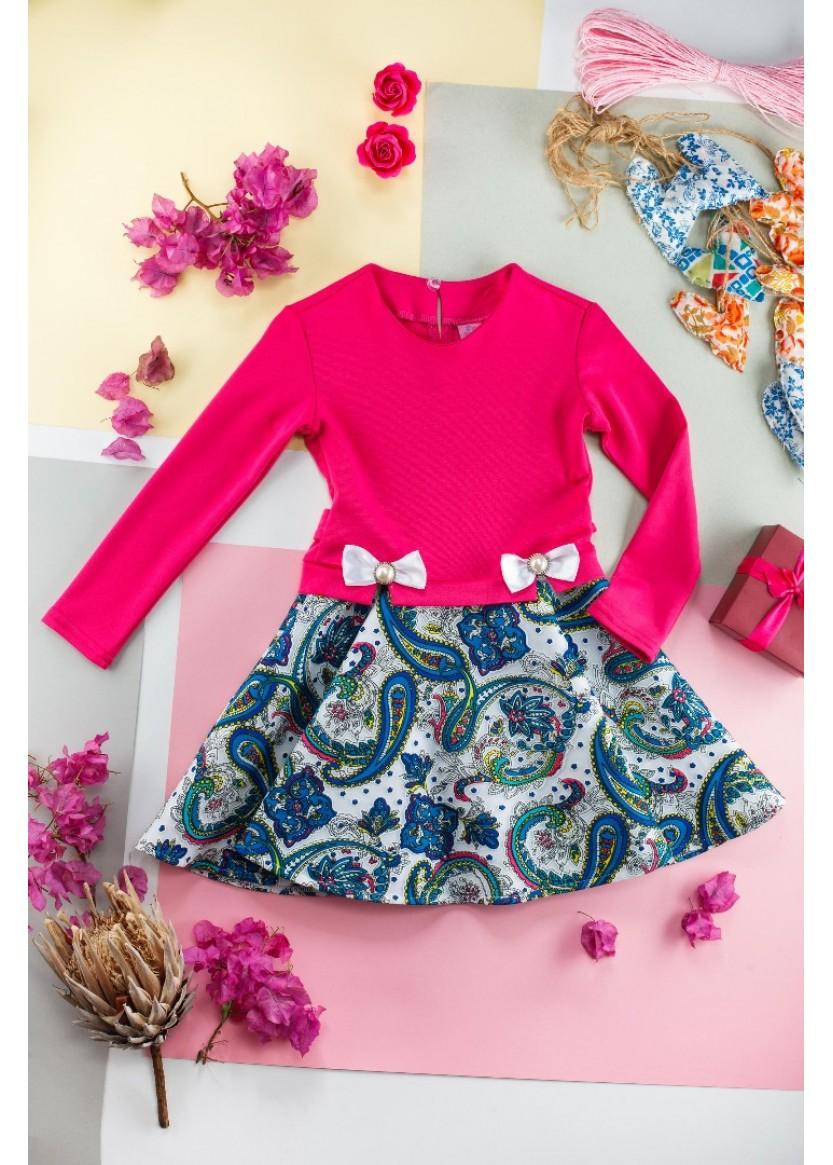 Платье Мадина, розовый