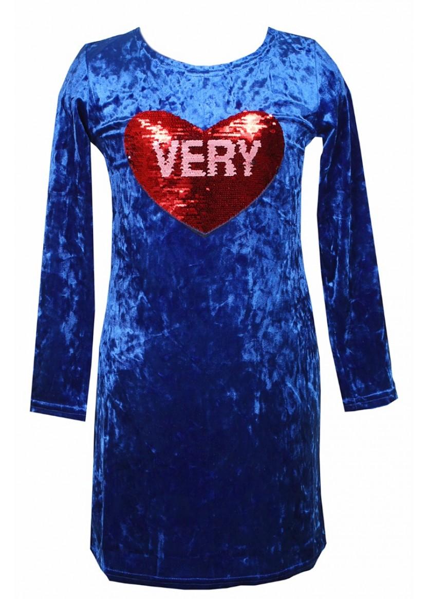 Платье Мадлен, синий