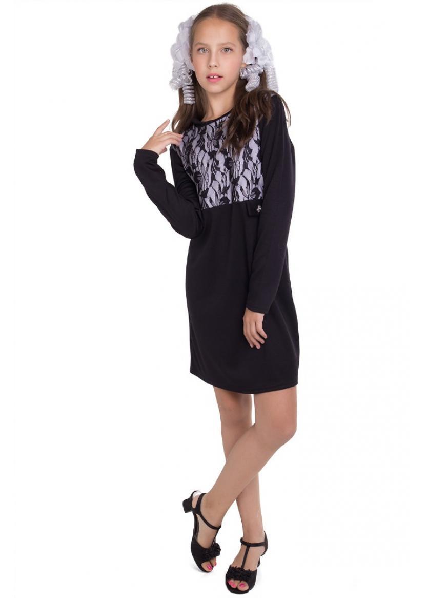 Платье Милли, черный