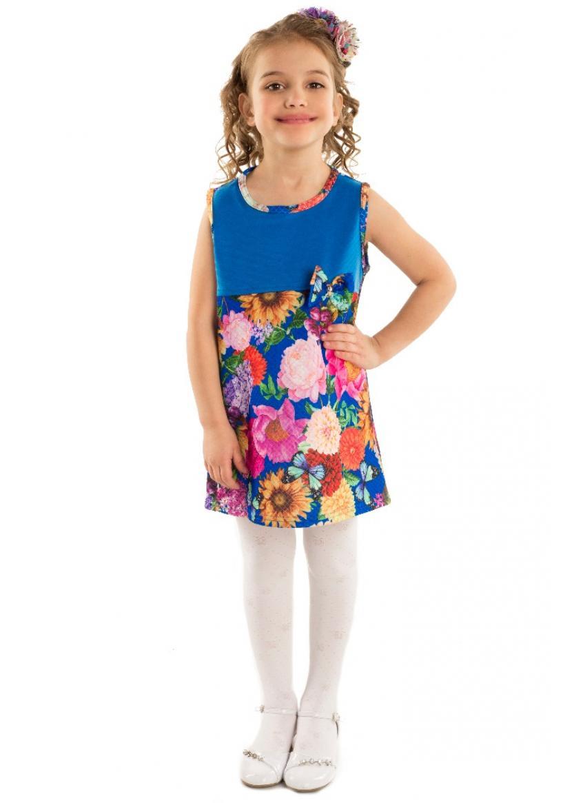 Платье Надин, голубой