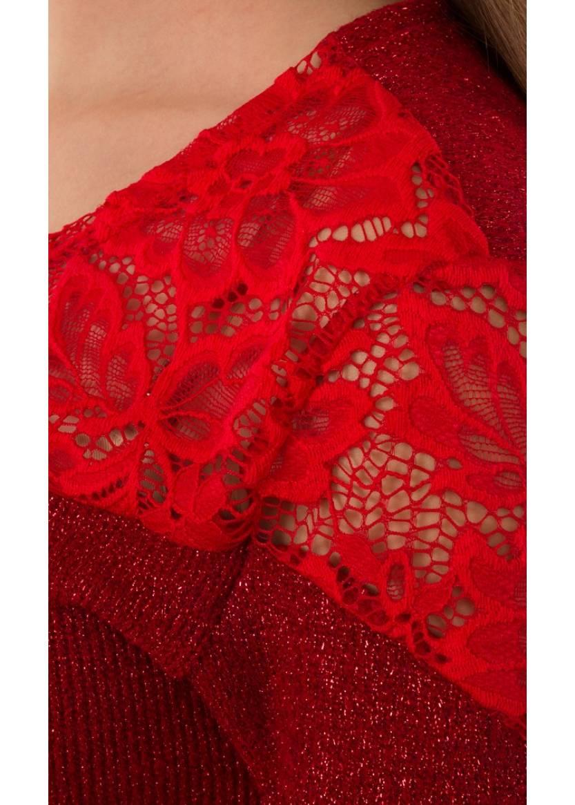 Платье Пелагея, красный