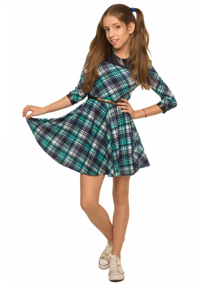 Платье Полли, бирюзовый