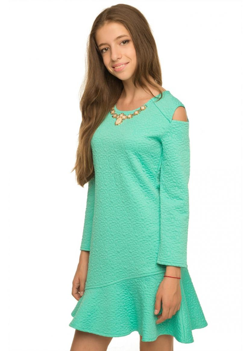 Платье Розалия, мятный
