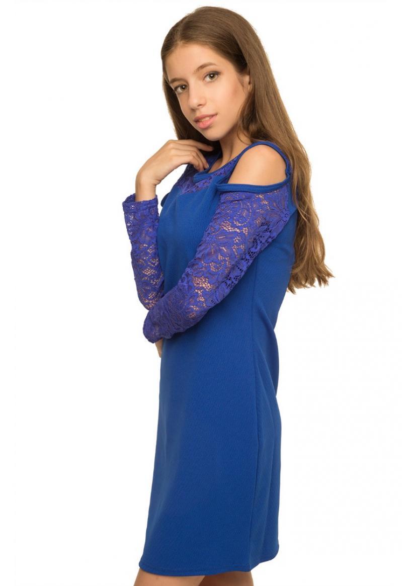 Платье Сьюзи, синий
