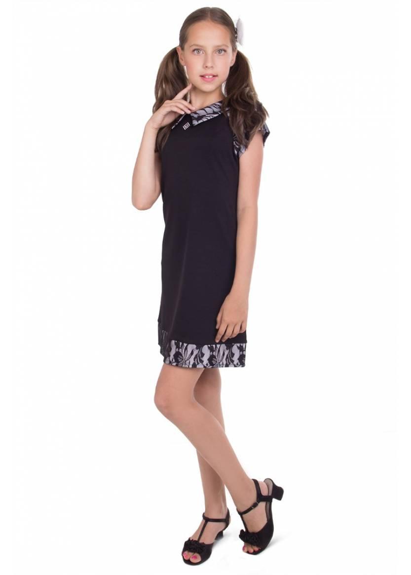 Платье Студио школа, черный