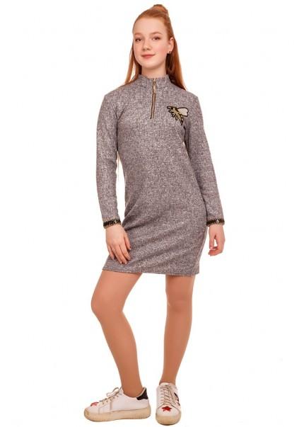 Платье Трейси, серый