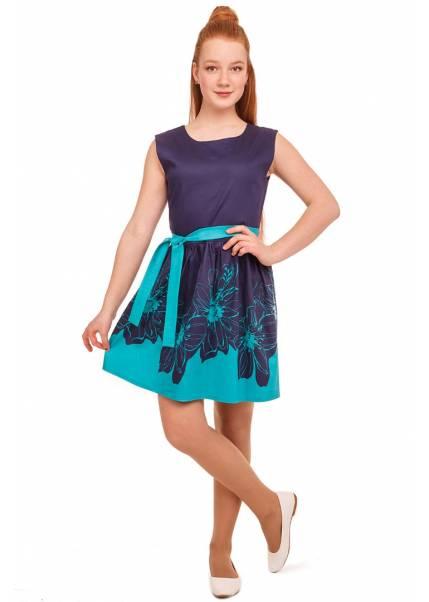Платье Фелиция, бирюзовый